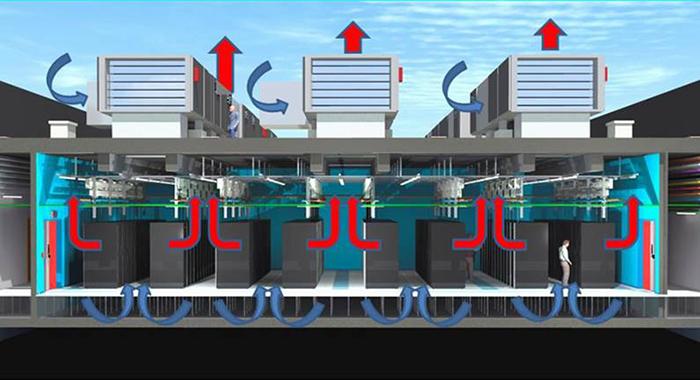 Free Cooling Diagram