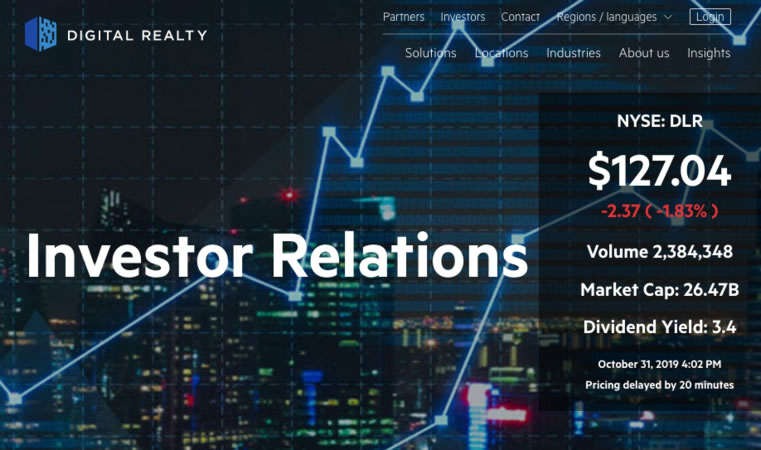Digital Realty - Interxion